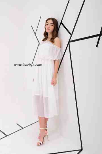 GRACE DRESS - OFF WHITE image