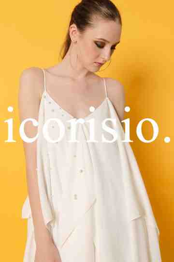 ESPOIR SLIP DRESS 01 - OFF WHITE image