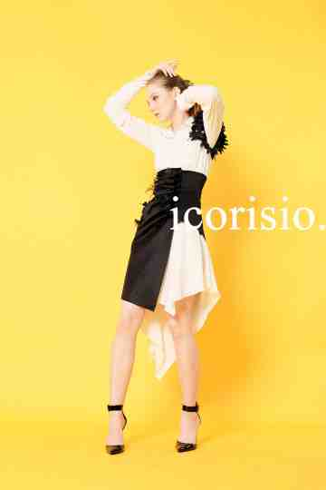 ESPOIR SHIRT DRESS - WHITE image