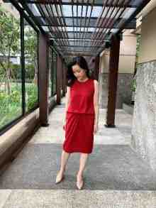 Mariana Dress (Red)