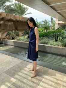 Mariana Dress (Navy Blue)