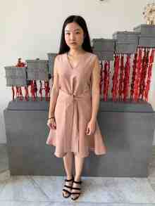 Madison Dress (Salmon)