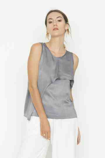 Grey Mon Top