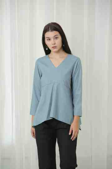 Casidee Top Grey