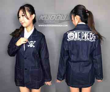 Blazer One Piece Denim