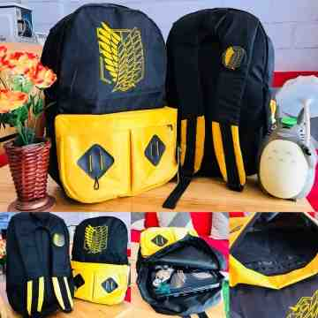 Bagpack SNK Gold