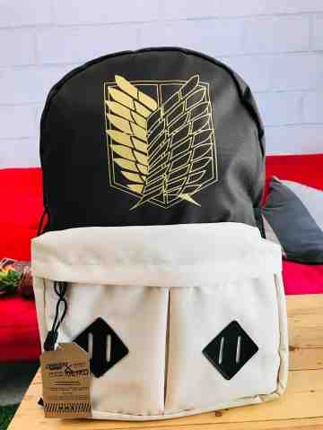Bagpack SNK Brown White