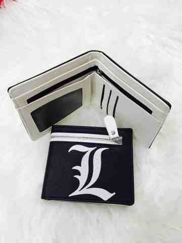 Dompet Deathnote Zipper Black