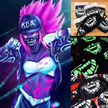 Masker K/DA Akali League of Legends LOL