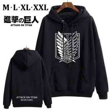 SWEATER ATTACK ON TITAN RECON CORPS BLACK