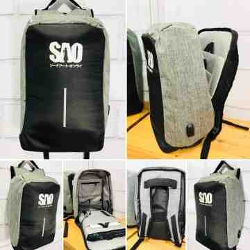 SAO Anti Theft Bagpack