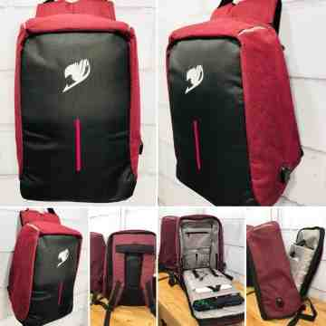 Fairytail Anti Theft Bagpack