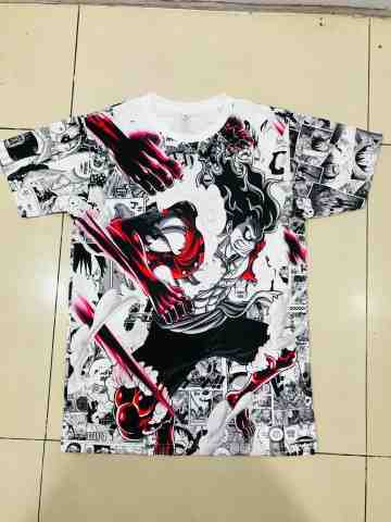 T-shirt Luffy Gear Snakeman Fullprint