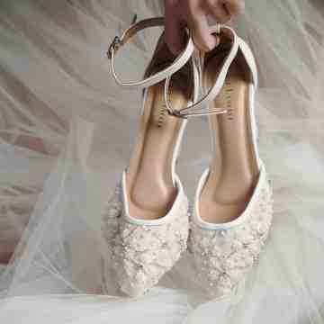 Lace Lynelle Wedding Shoes Zora