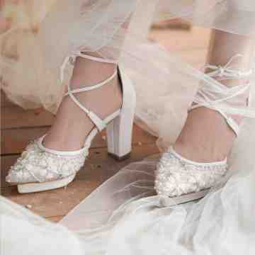Lace Lynelle Wedding Shoes Ofra