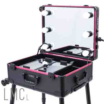 Professional Lighted Makeup Case - Large image