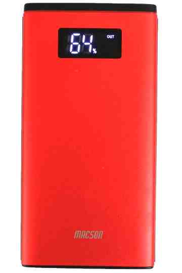 POWERBANK 198 10000mAh DIGITAL - RED image