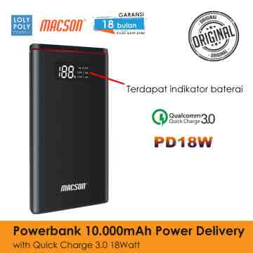 POWERBANK 198 10000mAh DIGITAL - GREY image