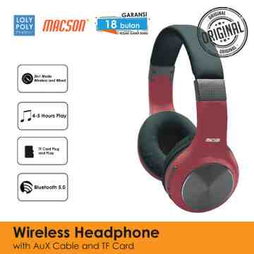 Wireless Headphone 165 - Red image