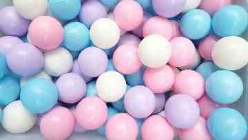 Bubble Gum Ball Isi 500 Pcs