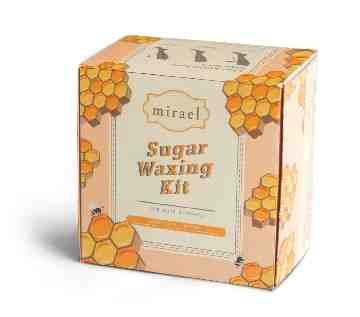 Mirael Honey Sugar Waxing Kit image