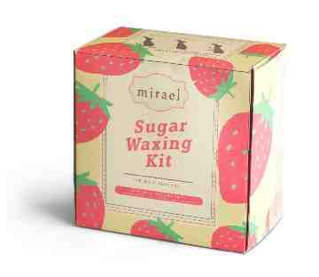 Mirael Strawberry Sugar Waxing Kit image