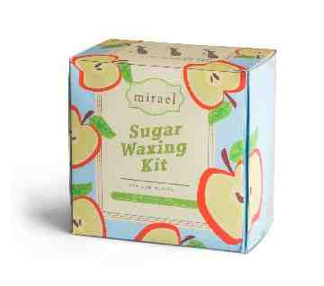 Mirael Apple Sugar Waxing Kit image