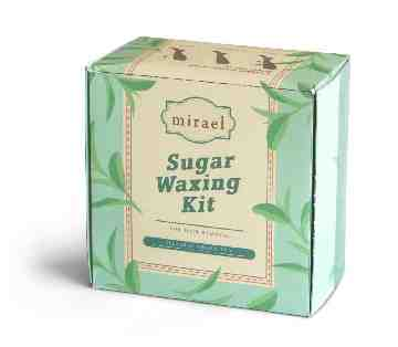 Mirael Green Tea Sugar Waxing Kit image
