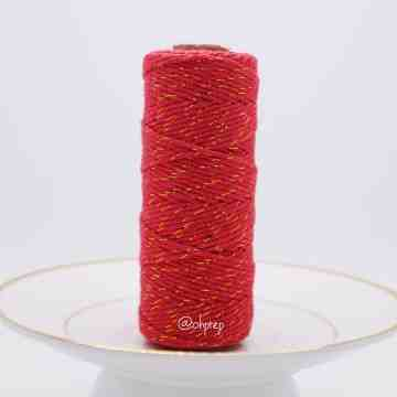 Bakers Twine-Red Goldilocks image