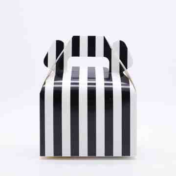 Gable Box Stripes Black image