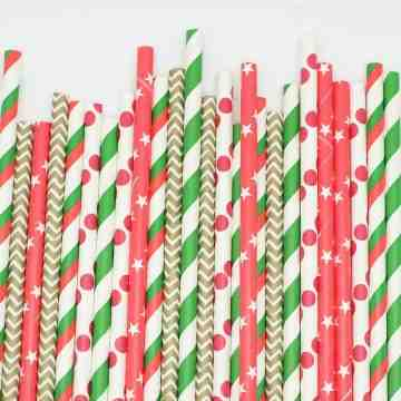 Paper Straws Jingle Bells image