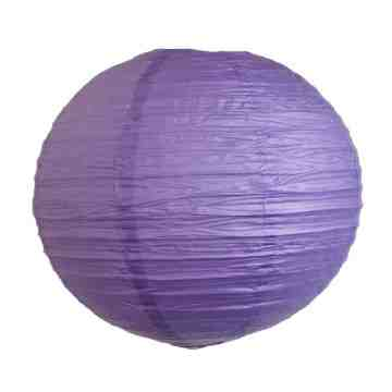 Paper Lantern Dark Purple image