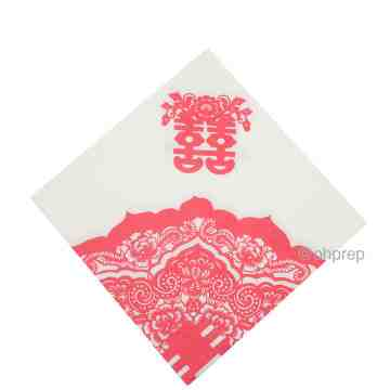 Paper Napkin - Double Happiness image
