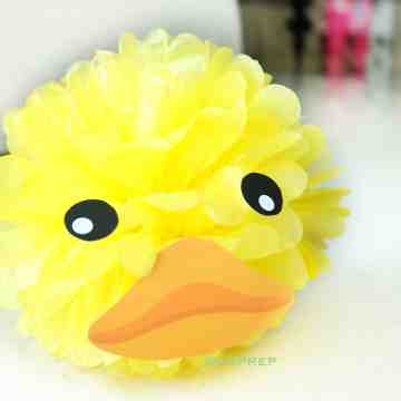 Pompom Character - Duck image