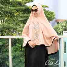 BUTTERFLY KHIMAR PEACH