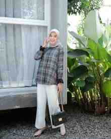 Flanel Seaweed - size L
