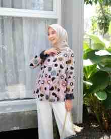 Floral Pink - size XL