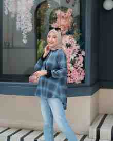 Flanel Dusty Blue