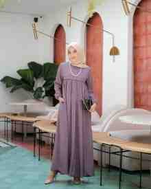 Mina Dress Lavender - size L