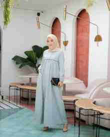 Mina Dress Ice Mint - size S (REJECT)