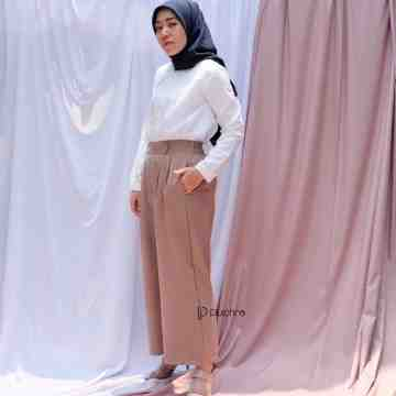 MISS GOLD PANTS MARSALA MOCCA