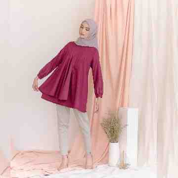 MELORY BLOUSE - QUARY