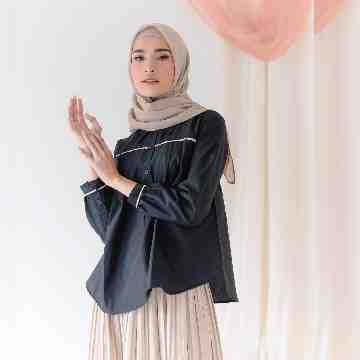 GLYN BLOUSE - BLACK