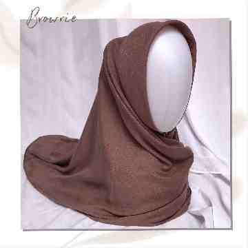 SAHARA VOILE SQUARE - BROWNIE