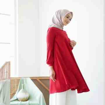 MELORY TUNIK - COOL RED