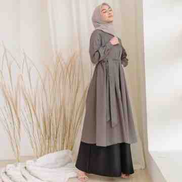 TIMY DRESS - DIM GRAY