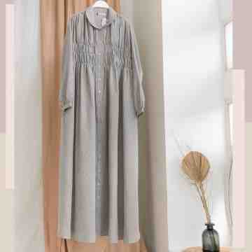 SMOCK DRESS - GLOOMY