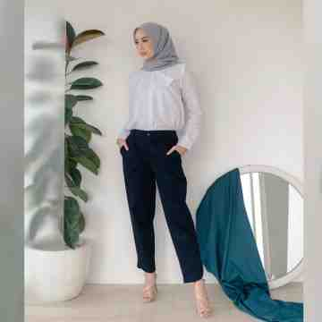OVLA PANTS - BLUE BLACK