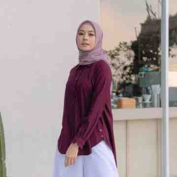GYA SHIRT - DARK WINE