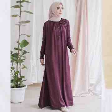 AUREE DRESS - PLUMMY